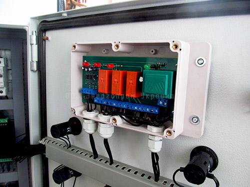 Контроль уровня воды в скважине